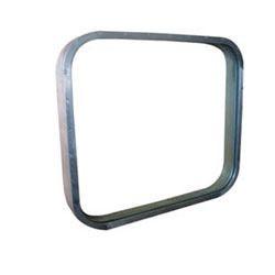 square bus window glass
