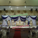 Latest Asian Wedding Stage Love Furnitures