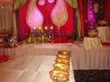 Wedding Backdrop With More Pankh