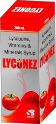 Lycopene, Vitamins & Minerals Syrups