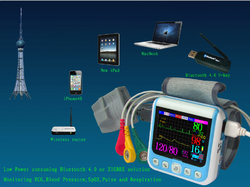 Wrist Held Patient Monitor