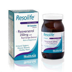 Resolife (Resveratrol 250mg) - Capsules