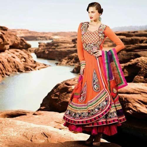 Designer Anarkali Salwar Kameez Suit