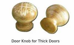 Door Knob for Thick Doors