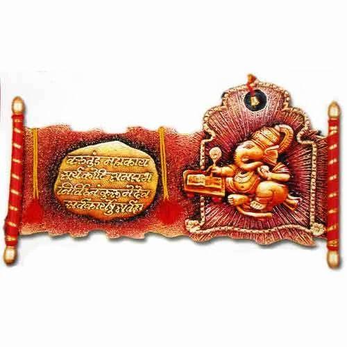Ganesh mural devotional ganesh murals pune netra arts for Mural ganesha
