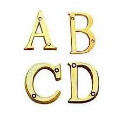 Metal Numerals & Alphabet