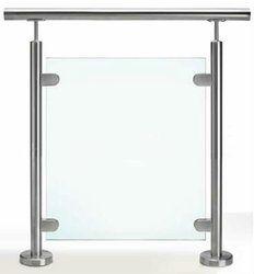 Glass Metal Railings