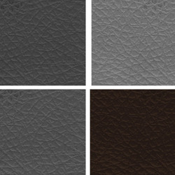 Grey Colored Leather Cloth