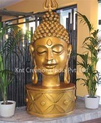 Fiberglass Buddha Sculpture
