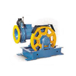 Single Shaft Traction Machine