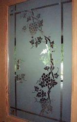 Interior Door Etched Glass
