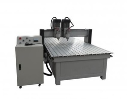 CNC Wood Working Router - Double Head