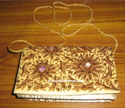 Zari Hand Embroidery Purses