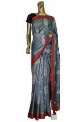 Handloom Tussar Silk Sarees