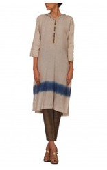 Linen Shaded Kurta