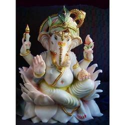Bojja Marble Ganapati Statue