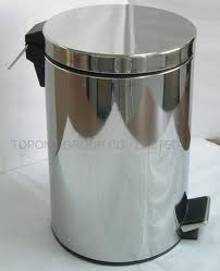 Stainless Trash Can Foot Pedal Stainlessstainless Waste Segregation
