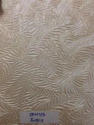 Swirl Embossed Metallic Embossed Handmade Papers In White,