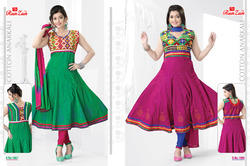 Cotton Anarkali Suits