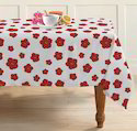 Attractive Flower Printed Table Cloths