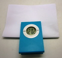 paper clip with lcd clock