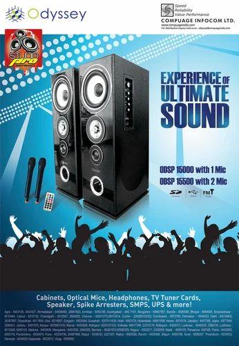 Sppeakers - Odyssey Speaker 2.0 TOWER - Wholesaler from Ahmedabad