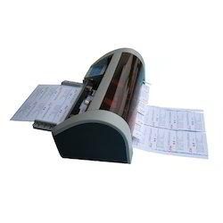 Semi Automatic Card Cutter