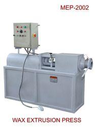 wax extrusion press