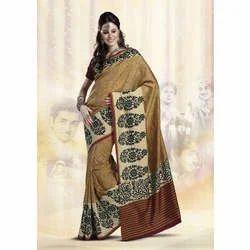Soft Silk Printed Designer Sarees