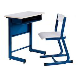 School Single  Desk and Chairs