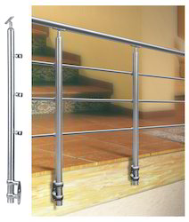 stainless steel 3k side mount railing