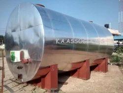 Furnace Oil Storage Tank Installation