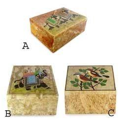 Soapstone Box Mini Soapstone Box