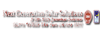 NXG Solar Next Generation Solar Solutions