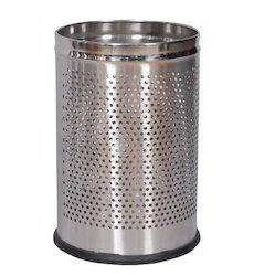 Round Perforated Waste Bins