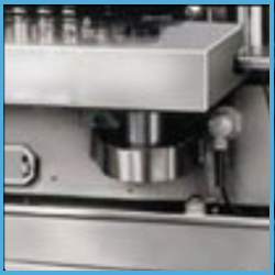 Automatic Wet Glue Paper Label Applicator Machinery for Flat Bottles