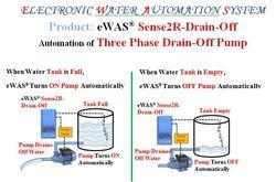 Water Drain Off Pump Automation