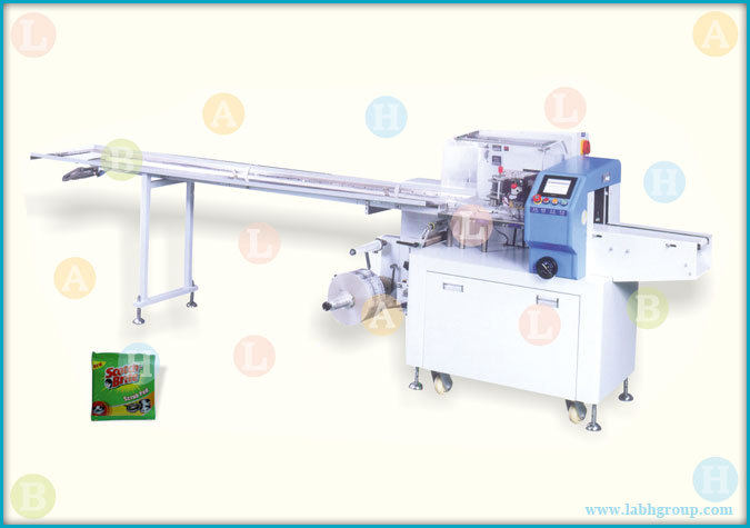 Automatic Horizontal Pillow Sachet Wrapping Equipment