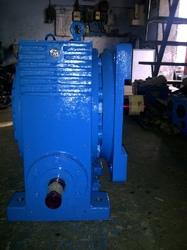 Vertical Upward Worm Reduction Gearbox