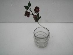 Votive with Roses