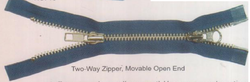 Two Way Zipper MovableOpen End