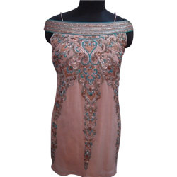 Embroidered+Indo+Western+Dress