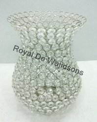 crystal centerpieces votive candle holders