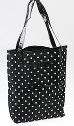 Black Bag With White Dots