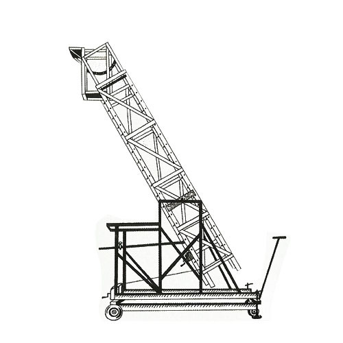 Extension Ladders Tiltable Telescopic Tower Extension