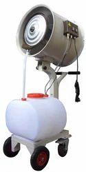 misting fan trolley mounted