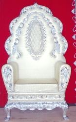 White Metal Wedding Chairs