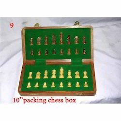 Packing Wooden Chess Box