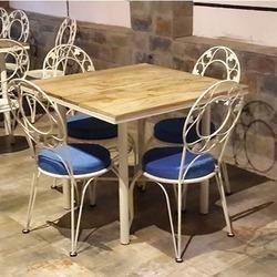 Wrought Iron Wood Furniture