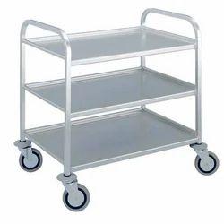 Steel Shelf Trolley